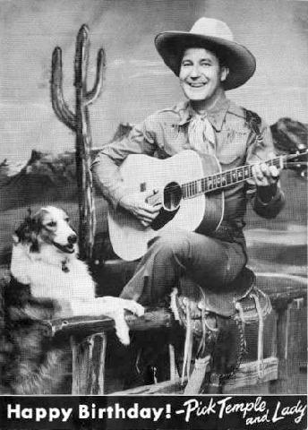 Early Pick Temple *Happy Birthday* Card