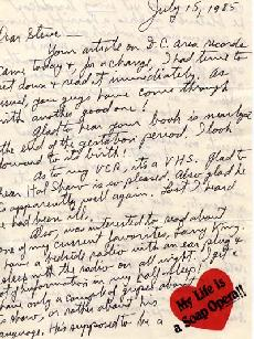 July 15, 1985 Letter To Stephen Moore